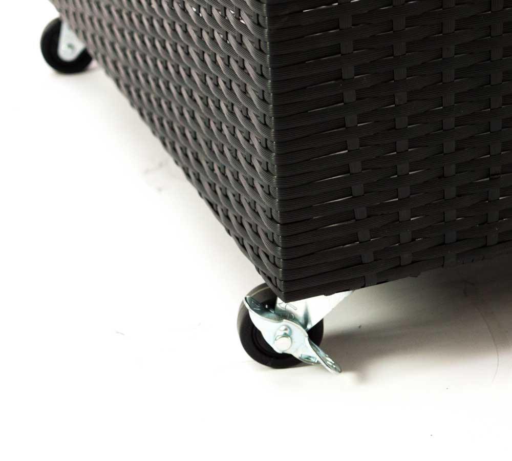 Gartenmobel Kinder Ikea : GartenKissenbox aus Polyrattan in schwarz – Bild 4